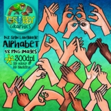 New Zealand Sign Language Alphabet Clip Art (NZSL Finger S