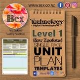 New Zealand Technology Unit Plan Template (Level 1 NZC)