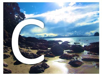 New Zealand Themed Alphabet