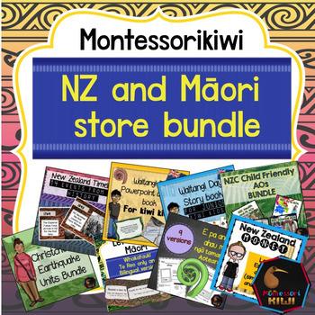 New Zealand and Maori MEGA Store Bundle