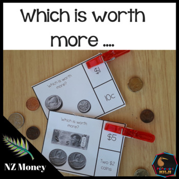 New Zealand Money Level 1 - which is worth more?