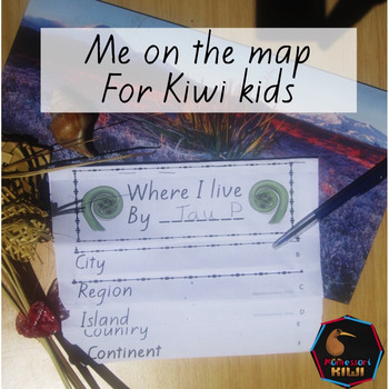 Me on the map: New Zealand geography