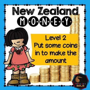 New Zealand money - put the coins in to make the amount listed