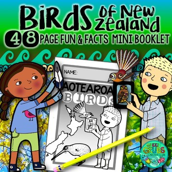 New Zealand's Birds {Fun & facts about Aotearoa's amazing birds}
