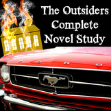Complete The Outsiders Novel Study with answer keys