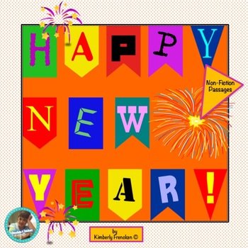 New's Year's Eve & Day Nonfiction Passages with Questions