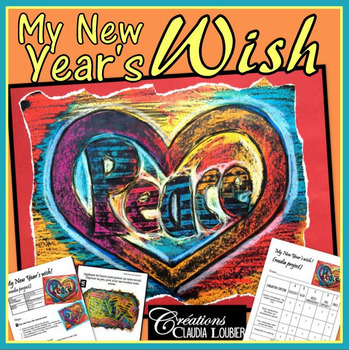 New year art project: My New Year's Wish