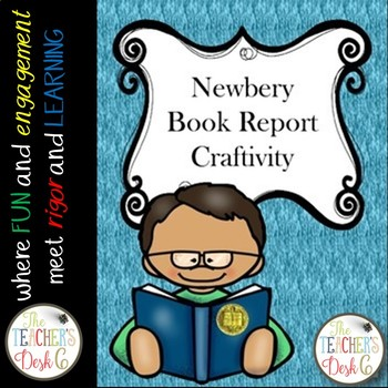Newbery Award Book Report Craftivity
