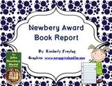 Newbery Award Book Report:  Reading Fair