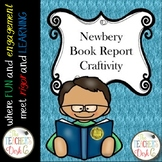 Newbery Award Book Report Craftivity