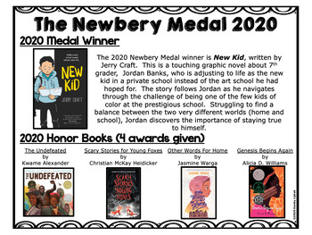Newbery Award Books