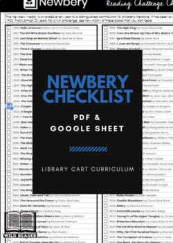 Newbery Reading Challenge Checklist