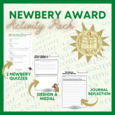 Newbery Medal Activity Pack