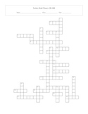 Newbery Medal Winning Books 1981-2008 Crossword