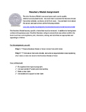 Newbery Medal Writing Assignment