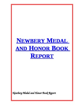 Newbery Medal and Honor Book Report