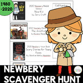 Newbery Scavenger Hunt from 1980