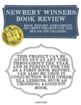 Newbery Winners Book Report