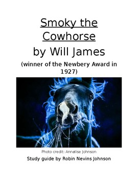 "Newbery Winning ""Smoky the Cow Horse"" study guide with comprehension questions"