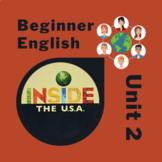 Newcomer & Beginner ESL Inside the USA Unit 2: Adjectives, classroom