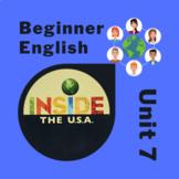 Newcomer & Beginner ESL Inside the USA Unit 7: body, health, emotions