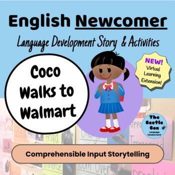 Newcomer Student Story + Activities:  Coco Walks to Walmart