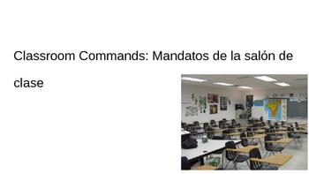 Newcomer ENL Classroom Commands/ Rules