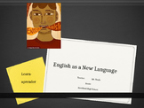"Newcomer ENL ELL ESL First Day of English Class ""Why learn"