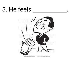 Newcomer ESL Feelings PowerPoint