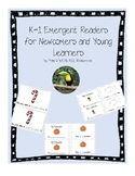 K-1 Emergent Reader books growing bundle - ESL/ELL!