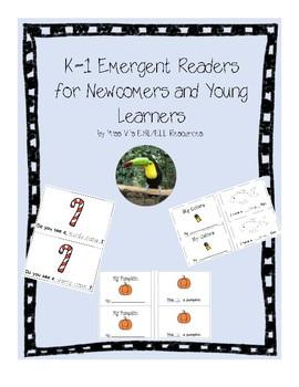 K-1 Emergent Reader books growing bundle - ESL/ELL!