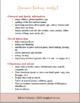 Newcomer Teaching Checklist!