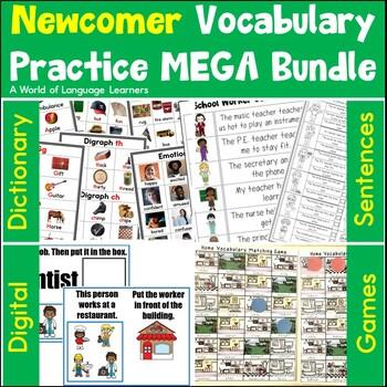 Newcomer Vocabulary Book Bundle