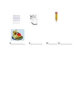 Newcomer Worksheet