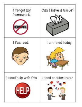Newcomer's Survival Phrases At School