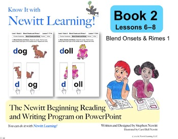 Newitt Book 2 PowerPoint: Blend Onsets & Rimes 1, Lessons