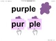 Newitt Book 2 PowerPoint: Identify Syllables 1, Lessons 1–