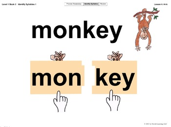 Newitt Book 2 PowerPoint: Identify Syllables 1, Lessons 4–5 (Prereading Series)