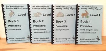 Newitt Level 1 Prereading Series (Set of Four Books)