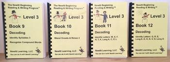 Newitt Level 3 Decoding Series (Set of Four Books)