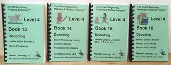 Newitt Level 4 Decoding Series (Set of Four Books)