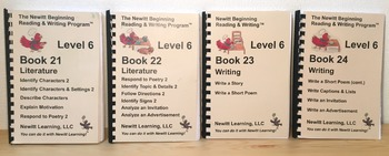 Newitt Level 6 Literature and Writing Series (Set of Four Books)