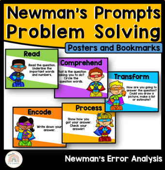 Newmans Error Analysis Posters : Newmans Prompts : Problem Solving