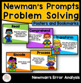 Newman's Error Analysis Posters : Newman's Prompts : Problem Solving