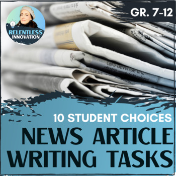 Newpaper Article RAFT writing assignment