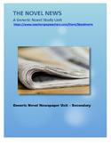 Novel Study - Generic - Newspaper