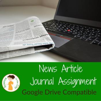 News Article Journal Digital Template