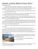 News Article Pre-Writing Lesson Plan - Analysis, Summary, & Writing Organization