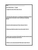 News Article Response - 5th Grade - Common Core Aligned