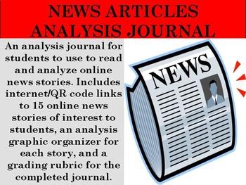 News Articles Analysis Journal
